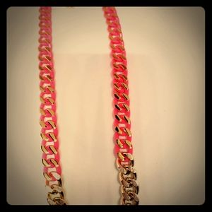 Links in color Necklace